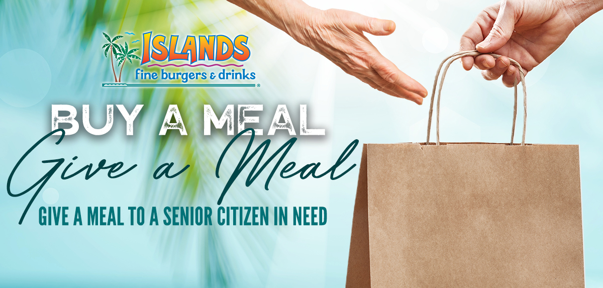 Give a Meal to a Senior Citizen in need!