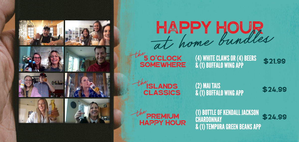 Happy Hour at Home Banner