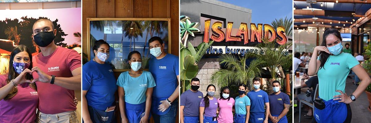 Islands Team Members